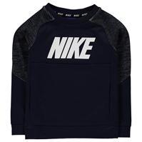Bluze trening Nike AV15 Pro Crew Neck de baieti Bebe