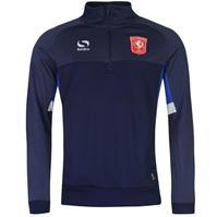 Bluze trening Sondico FC Twente Quarter Zip pentru Barbati