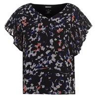 DKNY Print Blouse