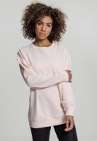 Oversize Crewneck pentru Femei roz Urban Classics