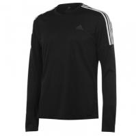 Tricouri cu Maneca Lunga adidas 3 Stripe pentru Barbati