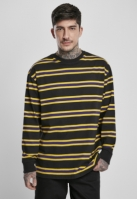 Yarn Dye LS negru-galben Urban Classics