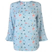 Rock and Rags All Over Pattern Blouse pentru Femei