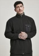 Bluze Bluza de trening Polar negru Urban Classics