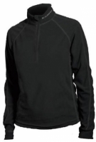 bluza thermo-Blizzard MICROFLEECE MAN Negru
