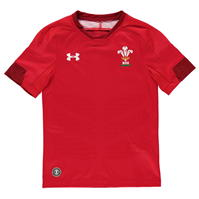 Tricou Under Armour Wales Home Rugby 2017 2018 Junior