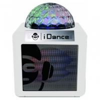 Boxa Bluetooth Cu Lumini Disco Cube Idance Cn2 alb