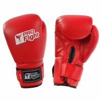 Manusi de box PROFIGHT PVC rosu