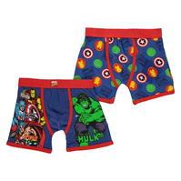 Boxeri Marvel 2 Pack de baieti
