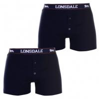 Boxeri Lonsdale 2 Pack pentru Barbati