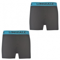 Boxeri Lonsdale 2 Pack Junior
