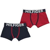 Boxeri Tommy Hilfiger 2 Pack de baieti Junior
