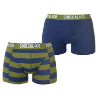 Boxeri SoulCal Trunk Pack of 2