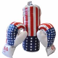 Set Boxing Kimet Max alb 0068