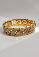 Bratari Glitter auriu Urban Classics