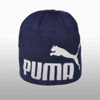 Caciuli Manusi si Fulare Puma Ess Big Cat Beanie Peacoat Barbati