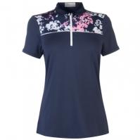 Tricouri Polo Callaway cu Maneca Scurta Floral pentru Femei