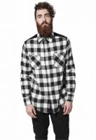 Tricou Cord Patched Checked Flanell Urban Classics