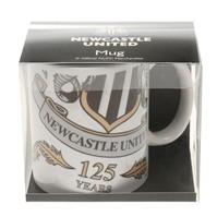 NUFC Newcastle United 125 Twin Crest Mug