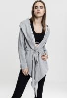 Cardigan Bluze trening cu gluga pentru Femei gri Urban Classics