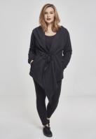 Cardigan Bluze trening cu gluga pentru Femei negru Urban Classics
