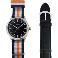 Casio Special Mod Mtp-v005l-1_dw5 (nato Stripes + negru din piele)