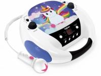 Cd-player Interactiv Pentru Copii Cu Microfon, Bigben, Albastru