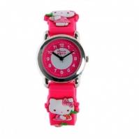 Ceas De Mana Copii 3d roz Bow Hello Kitty