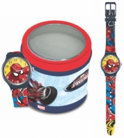 Ceas Marvel Kid Mod Spiderman - Tin Box