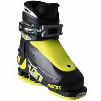 Clapari ski Roces Idea Up negru-lime 450490 18 pentru copii
