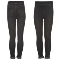 Glitzy Denim Jeggings de fete Bebe