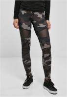Colanti Camo Tech Mesh pentru Femei camuflaj-negru Urban Classics