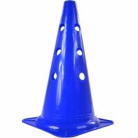 Con antrenament fotbal RONNAY cu gauri albastru 30cm 40304