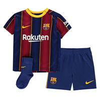 Nike Barcelona Home Kit 2020 2021 Bebe