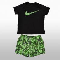 Costume de baie Nike Ss Top Swim Short Gfx Inf Unisex copii