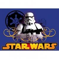 Covor albastru Star Wars 95x133cm