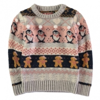 Star Christmas Knit de fete Bebe