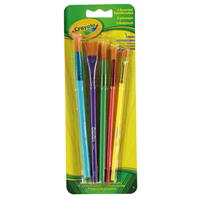 Crayola Assorted Paint Brushes Pack of 5