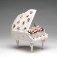 Cutiuta muzicala de portelan - Grand Piano