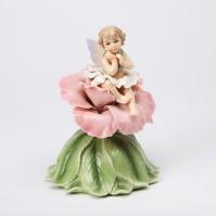 Cutiuta muzicala de portelan - Zana si Trandafir