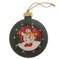 The Spirit Of Christmas Wooden Decoration
