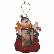 The Spirit Of Christmas Wooden Photo Decoration