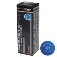 Dunlop Competition Racketball 3 Ball Box