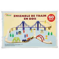 Early Learning Wooden Train Set
