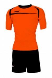 Echipament fotbal Hawaii Arancio Fluo Nero Max Sport