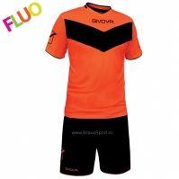 Echipament fotbal KIT VITTORIA FLUO MC Givova