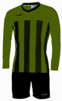 Echipament fotbal Match Verde Nero Max Sport