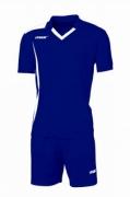 Echipament fotbal Monviso Blu Bianco Max