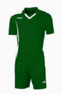 Echipament fotbal Monviso Verde Bianco Max