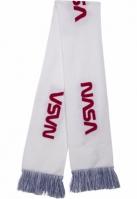 Esarfa NASA tricot albastru-rosu Mister Tee
